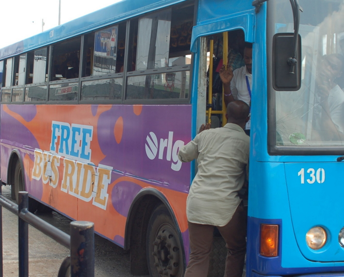 lagos free bus ride disabled