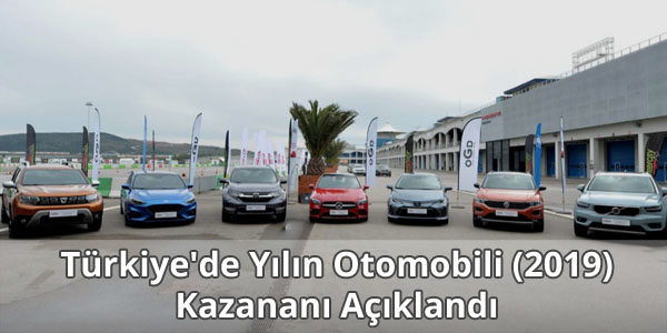 Türkiye'de Yılın Otomobili (2019) Açıklandı