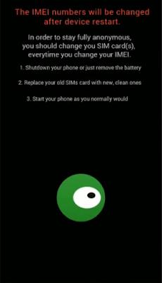 restablecer imei de un teléfono