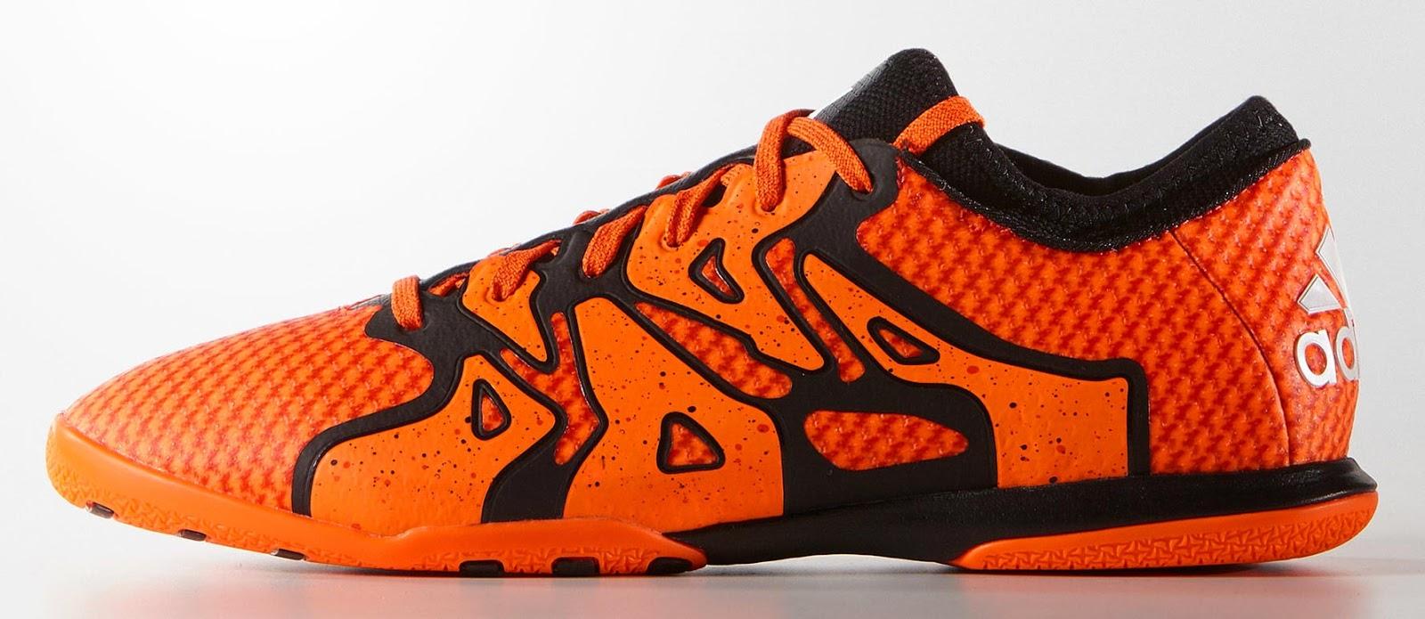 Adidas X 15+ Primeknit Halle - Rot / Schwarz / Orange