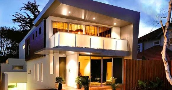 Flat Roof House Designs Single Storey