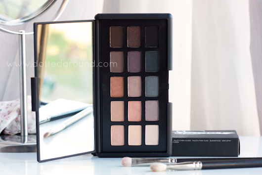 NARS Narsissist eyeshadow palette swatches, review