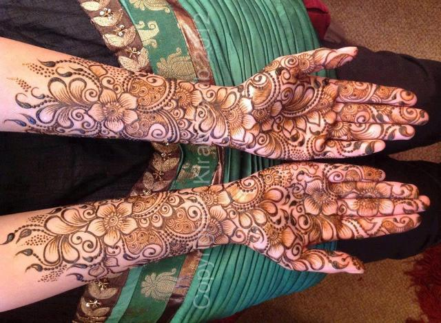 Mehndi Designs Latest Images : Latest simple eid henna new mehndi designs with images