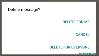 WhatsApp Delete for everyone