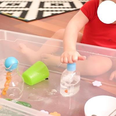 activité sensorielle pour bébé