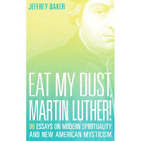 "Cover of the Book ""Eat my Dust, Martin Luther!"" by Jeffrey Baker"