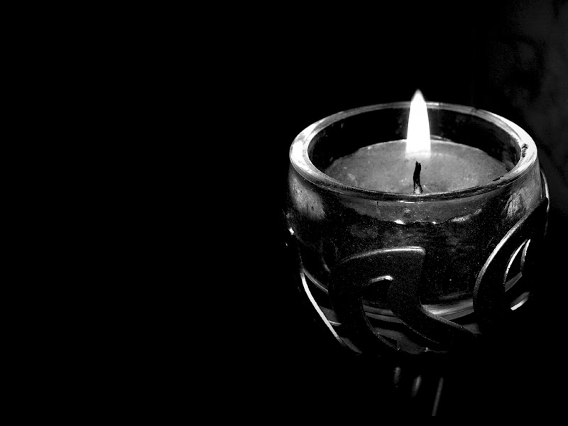 Candle Black Wallpapers - Black Wallpapers title=