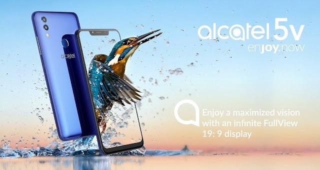 Alcatel 5V handphone layar poni harga hanya Rp2,8Jutaan