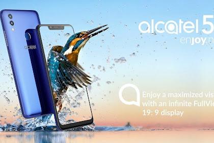 Alcatel 5V Layar Poni dan Baterai Besar Dijual Hanya Rp2,8Jutaan