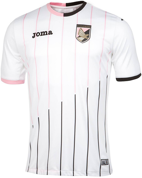 2fbb2aaea The new Palermo 2015-16 Third Kit introduces a fresh look for the Sicilian  club. Joma combines the main color green with fluorescent yellow details on  the ...