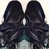 warna highlight untuk rambut hitam