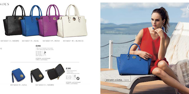 Catalogo de bolsas para las damas HB handbags OI 2016