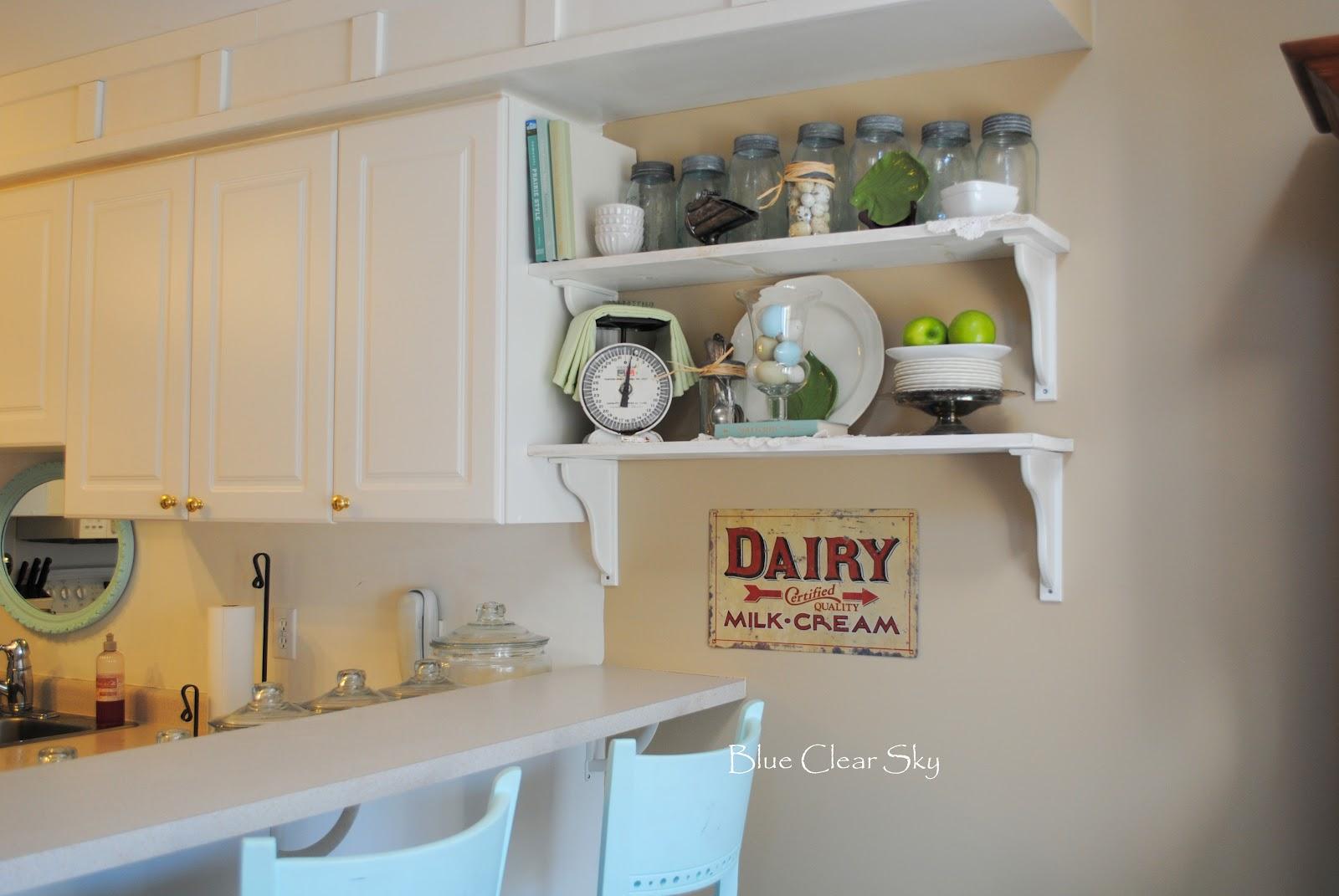 lovely spring shelves kitchen bcs