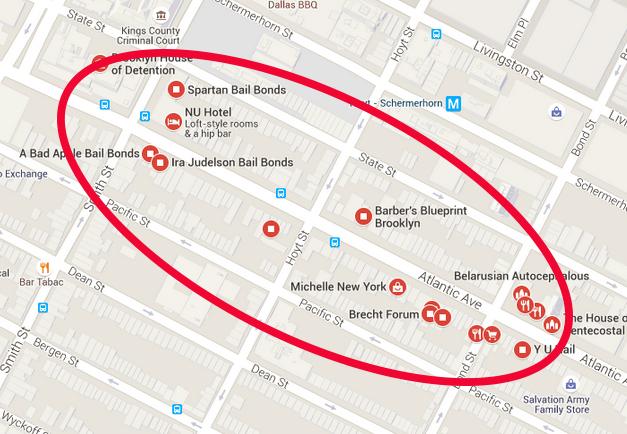 Mcbrooklyn Atlantic Ave Sidewalks To Become Pop Up