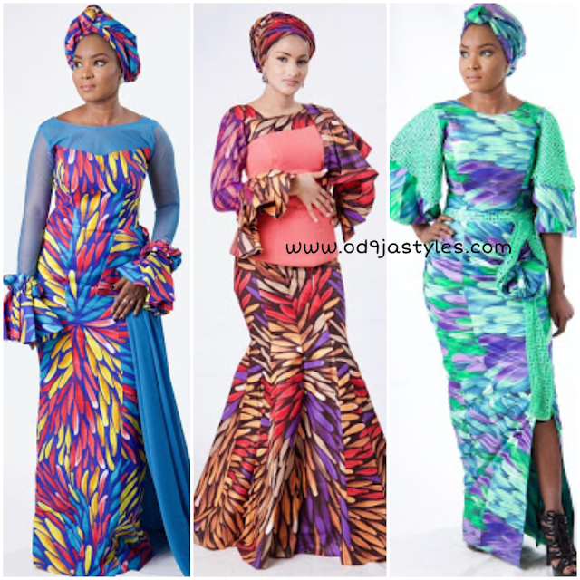 Good-Looking African Ankara Long Gown Styles You Should Try Out