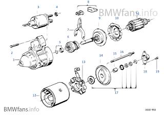 BMW E36 SOLUTION: CARA MEMBUAT RELAY TAMBAHAN PADA STARTER