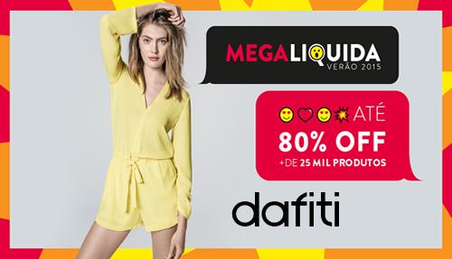 bcb5de621c0 Mega Liquida Verão Dafiti 2015 com até 80% OFF ~ Descontos 2015