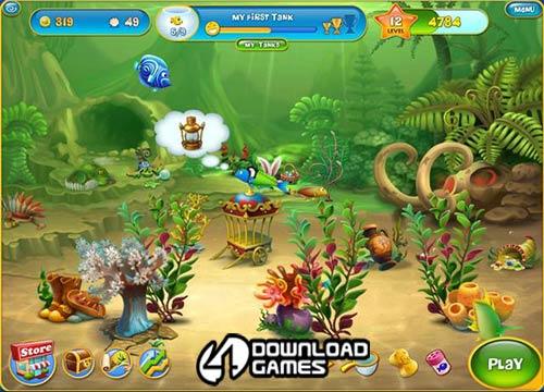 لعبة حوض الاسماك الخفيفة Aquascapes كاملة ومجانية