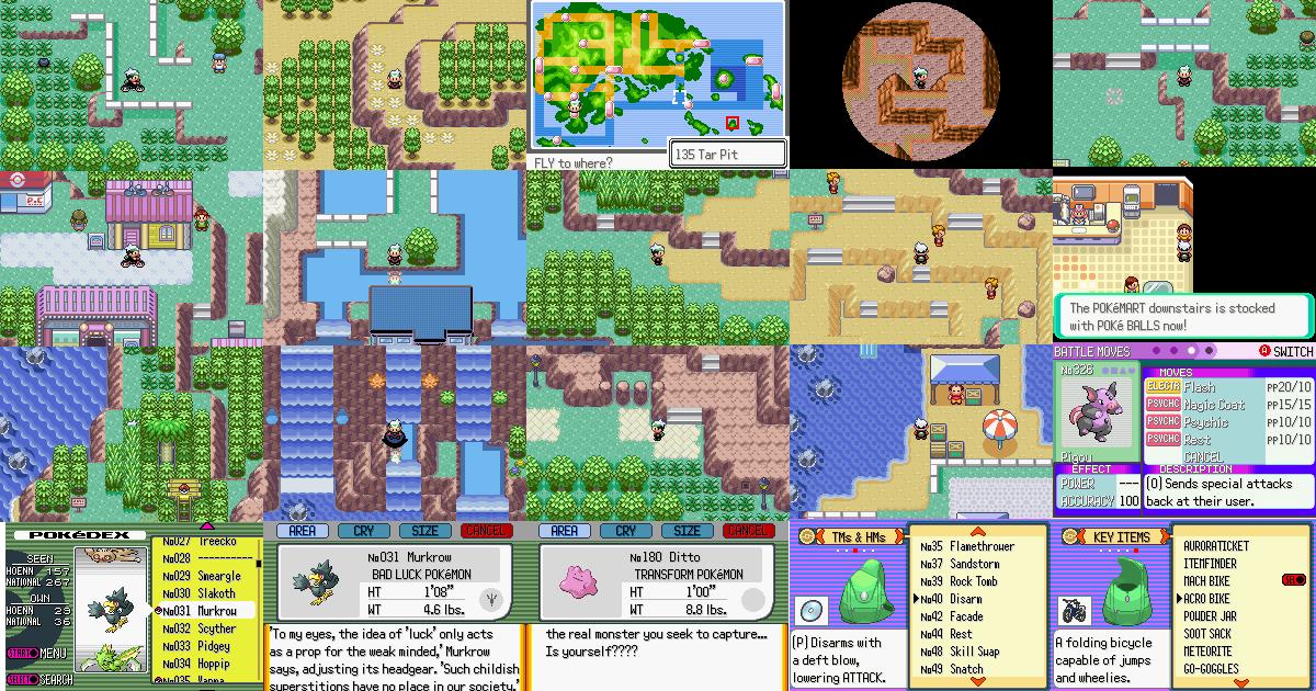 Pokemon Emerald World Map.Pokemon Emerald Roulette Rom Biloxi Casino Event Calendar