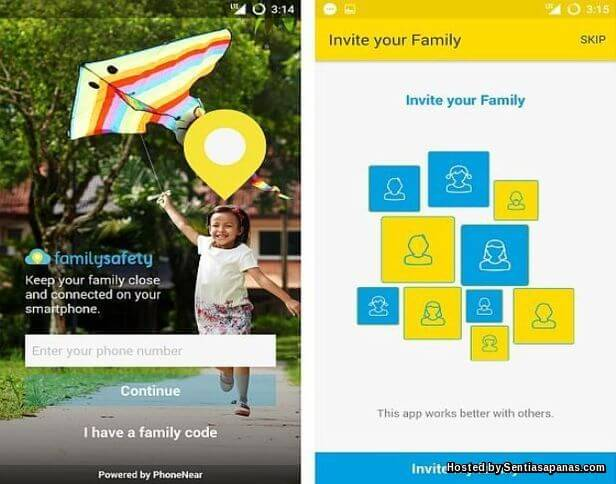 Aplikasi Digi Family Safety