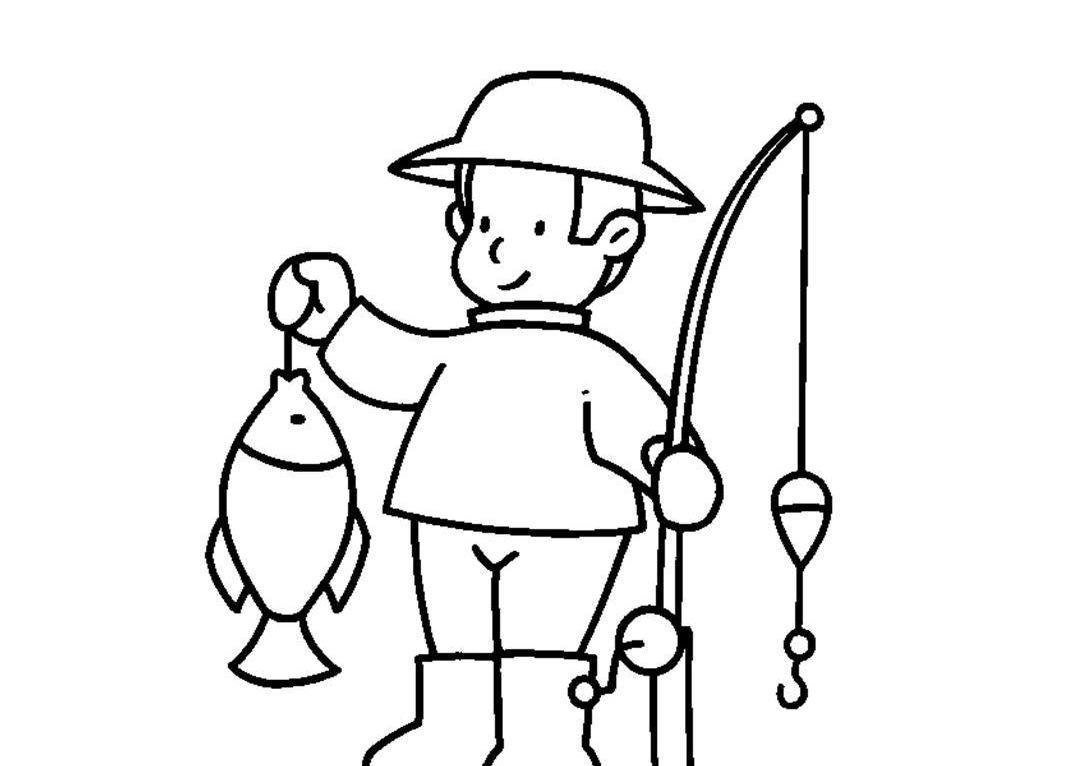 Dibujos Para Colorear Un Pescador: Ackerman: La Historia Del Empresario Y El Pescador