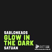 Sablon Kaos Satuan Manual Glow In The Dark Menyala Dalam Gelap
