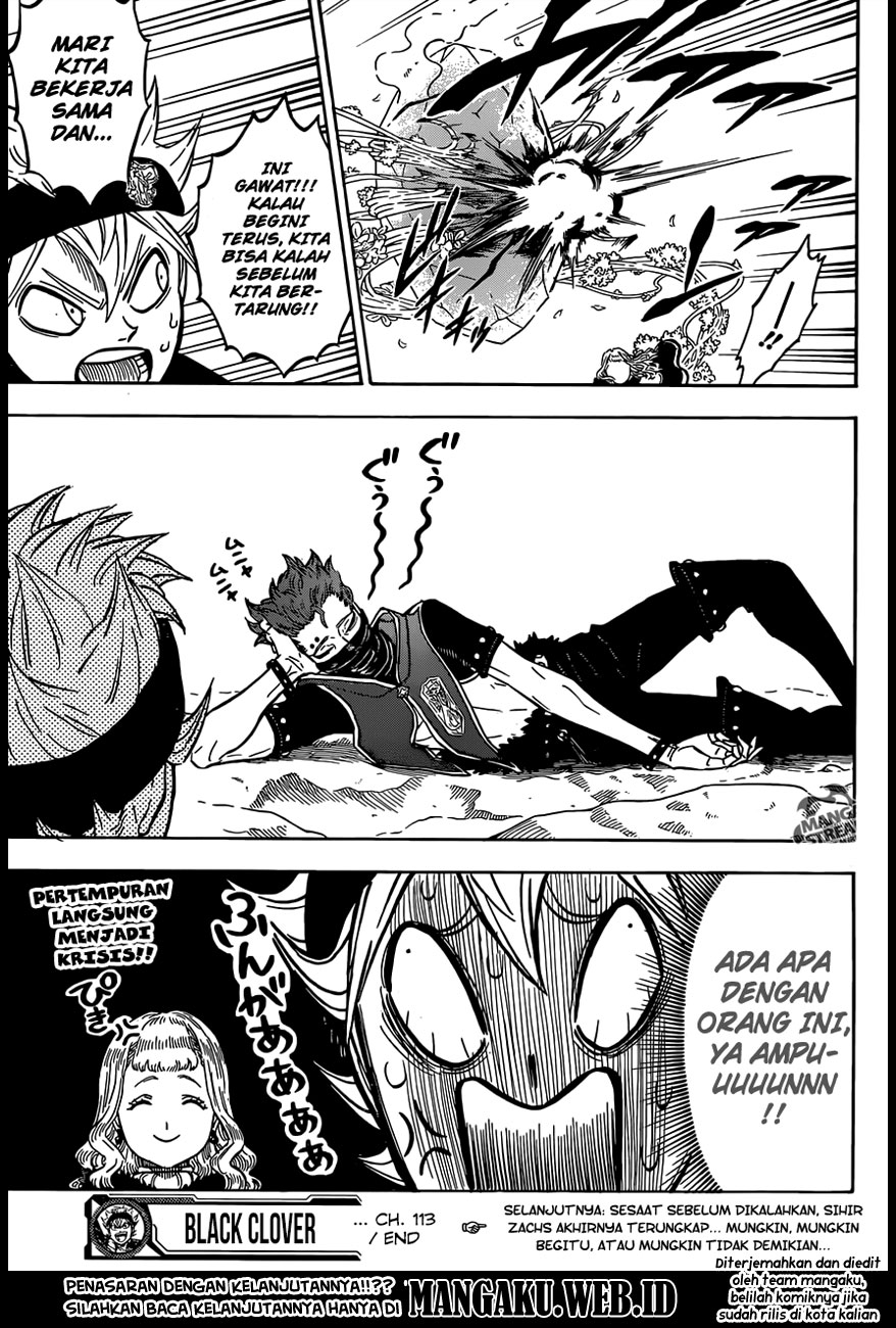 Black Clover Chap 113 Bahasa Indo