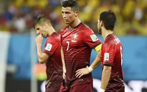 Ronaldo trên sân bóng