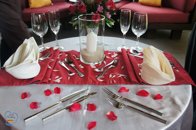 Pinay Panadera S Culinary Adventures Romantic Dinner Set Up
