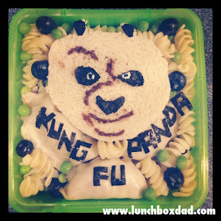 kung fu panda easy kids lunch