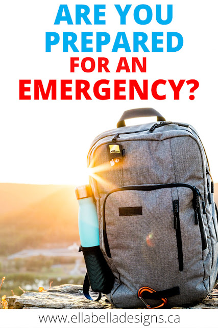 Emergency disaster preparedness kit and plan - including free printables.