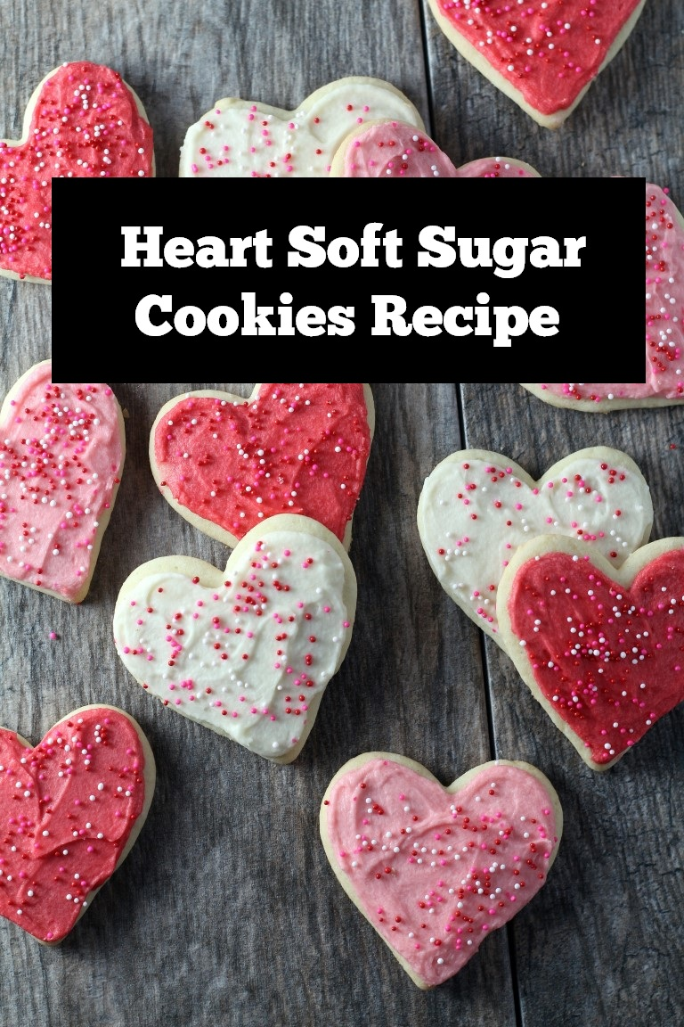 Heart Soft Sugar Cookies Recipe | Soft Sugar Cookies | Sugar Cookies recipe | cookie recipe #sugarcookies #cookies #cookierecipe #softsugarcookies #desserts