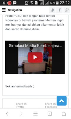 Agar Video di blog Tampil Responsive di HP