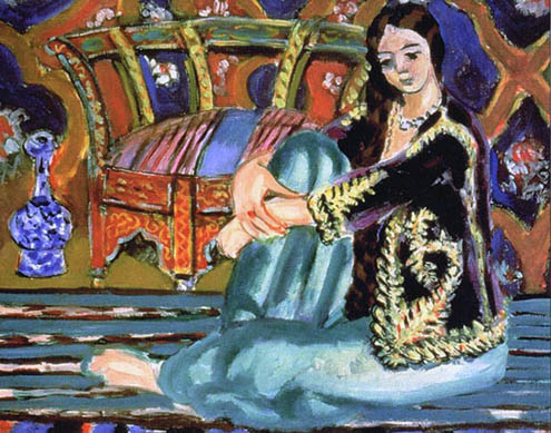 Henri Matisse 1868-1954 | French Fauvist painter and sculptor | Odalisque series