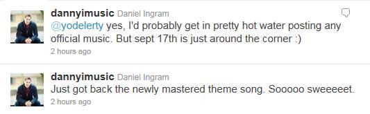 Daniel Ingram's Twitter