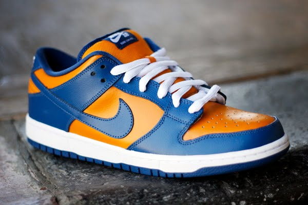 new concept 9d63b e64a5 The Nike SB Dunk Low – Sunset – French Blue, is part of the large list of SB  Dunks dropping this month. The colorway features a fresh combination of  bright ...