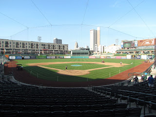 Home to center at Parkview Field