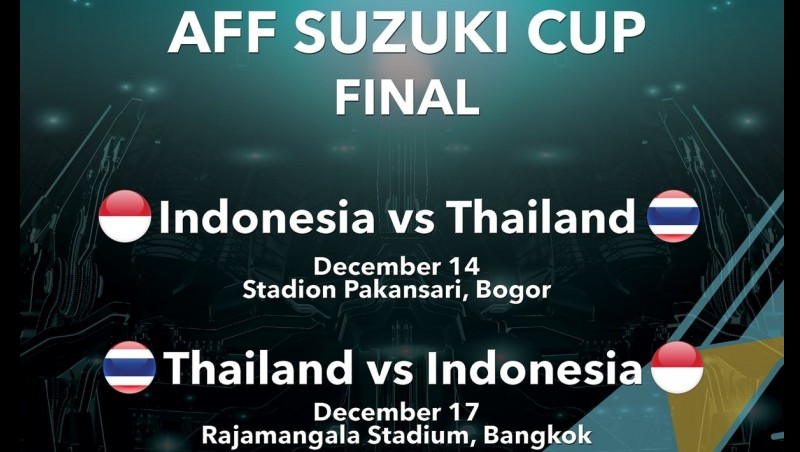 Jadwal Indonesia Vs Thailand, final AFF Cup 2016