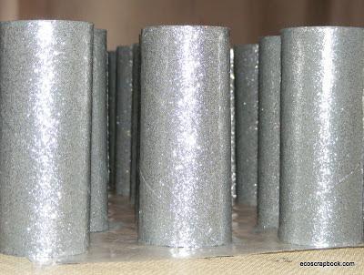 Ecoscrapbook Tutorial Toilet Paper Roll Chandelier