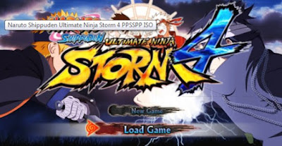Download Naruto Shippuden Untimate Ninja Storm 4 PPSSPP Iso Texture Android for android