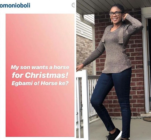 Kids Demand For Mission Impossible As Xmas Gift From Movie Star Mum Omoni Oboli