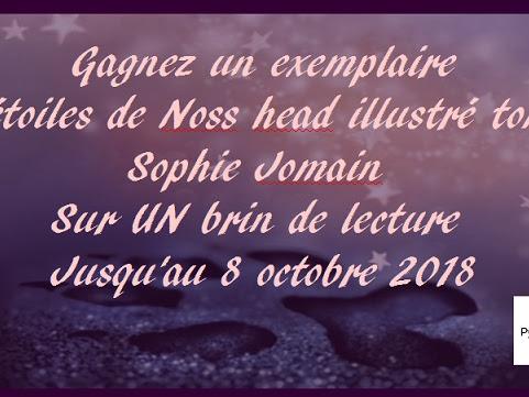 Concours Les étoiles de Noss Head #2  illustré de Sophie Jomain & Marie-Laure Barbey-Granvaud