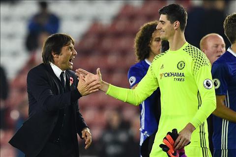 Conte tin tưởng Courtois sẽ ký hợp đồng mới