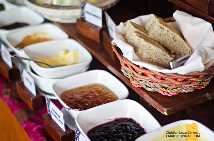 Cocoon Boutique Hotel Quezon City Breakfast