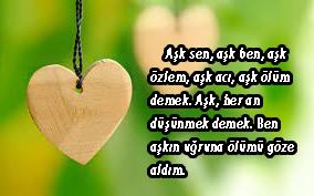 Aşk Sözleri RESİMLİ