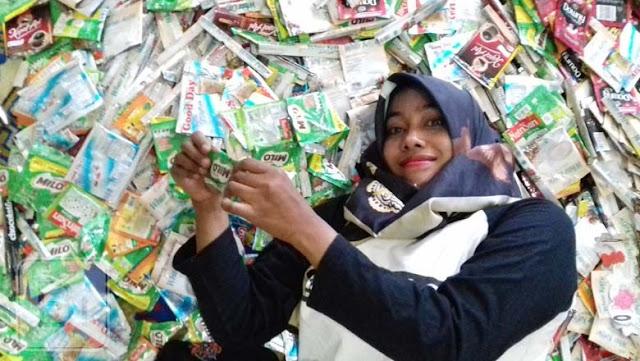 Siti Fitriah Konsisten Kampanye Reduce, Reuse dan Recycle Sampah Gresik