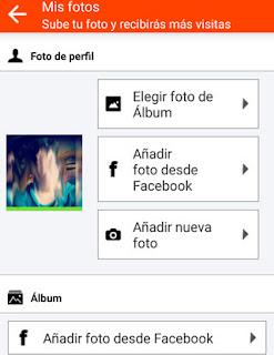 Como subir nuevas fotos desde tu Facebook a Tu perfil  Mobifriends