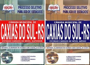 Apostila Processo Seletivo Câmara de Caxias do Sul 2018