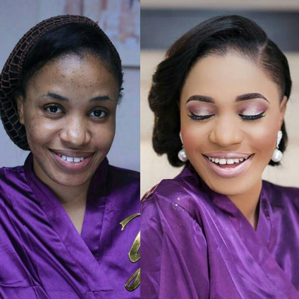 Amazing make-up transformation by ItsLarry Saloon