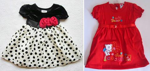 baju anak perempuan 2 tahun